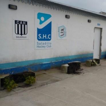 Lamentable hecho de vandalismo en las instalaciones del Saladillo Hockey Club
