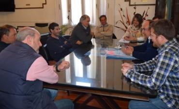 El Ing. Salomón recibió a representantes de los clubes de Rugby y Atlético Huracán