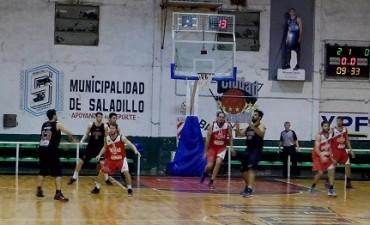 Tropezón de Ciudad de Saladillo en la primera fecha del Provincial de Clubes