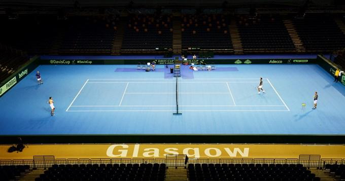 El equipo de Copa Davis, firme en Glasgow