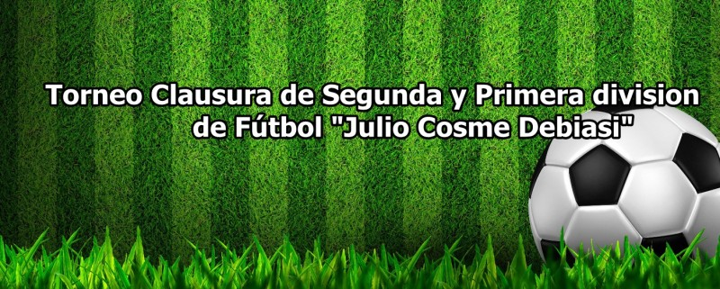 """SUSPENDIDA: Se juega la cuarta fecha del Torneo de Primera """"Julio C. Debiasi"""""""