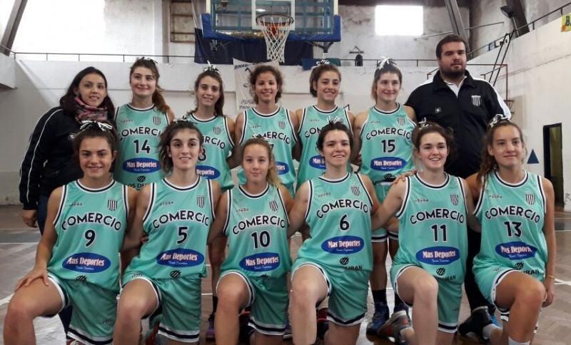 Comercio de Alvear avanzó a semifinales del Argentino de Clubes sub17 Femenino