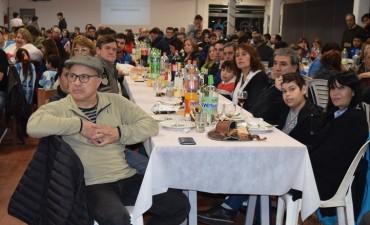 Salomón participo de la cea aniversario de la filial de Racing
