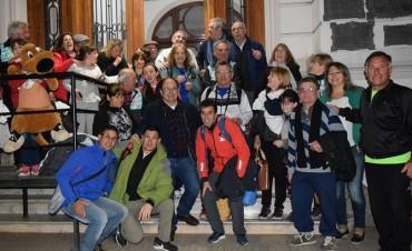 Contingente de Adultos Mayores preparados para viajar a Mar del Plata