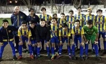 Goleada de Apeadero y derrota abultada de Huracán en el Provincial de clubes sub13