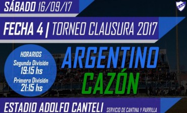 "Se inicia este sábado la cuarta fecha del Torneo de Primera ""Julio C. Debiasi"""