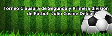 """Se completa hoy la cuarta fecha del Torneo de Primera """"Julio C. Debiasi"""""""