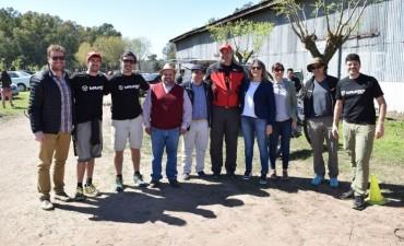 Se disputó la tercera fecha del Rally series MTB en Cazón