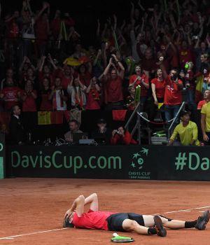 Francia y Bélgica, finalistas de la Davis
