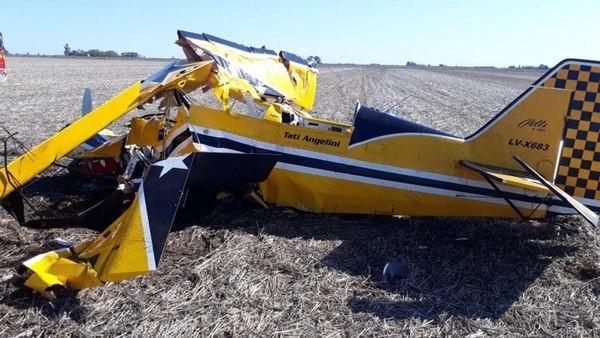 Falleció trágicamente el piloto Tati Angellini