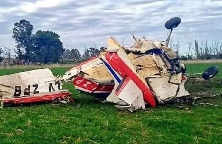 Otra tragedia aérea enluta al automovilismo