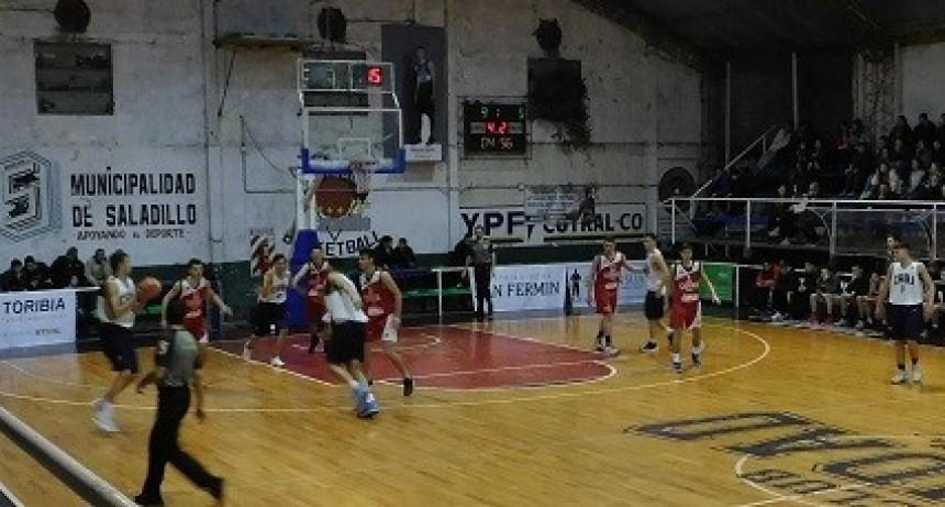 Saladillo ganó en el inicio del Triangular de la Liga Juvenil