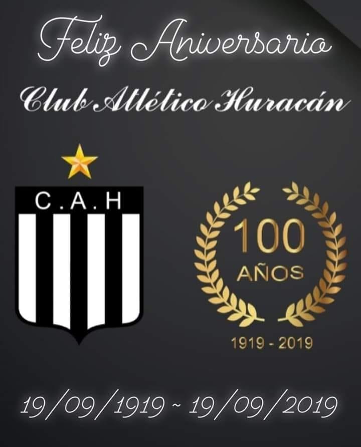 Hoy cumple 100 años el club Atlético Huracán de Saladillo