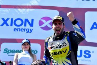 En un triplete de Ford, Lambiris ganó en Paraná