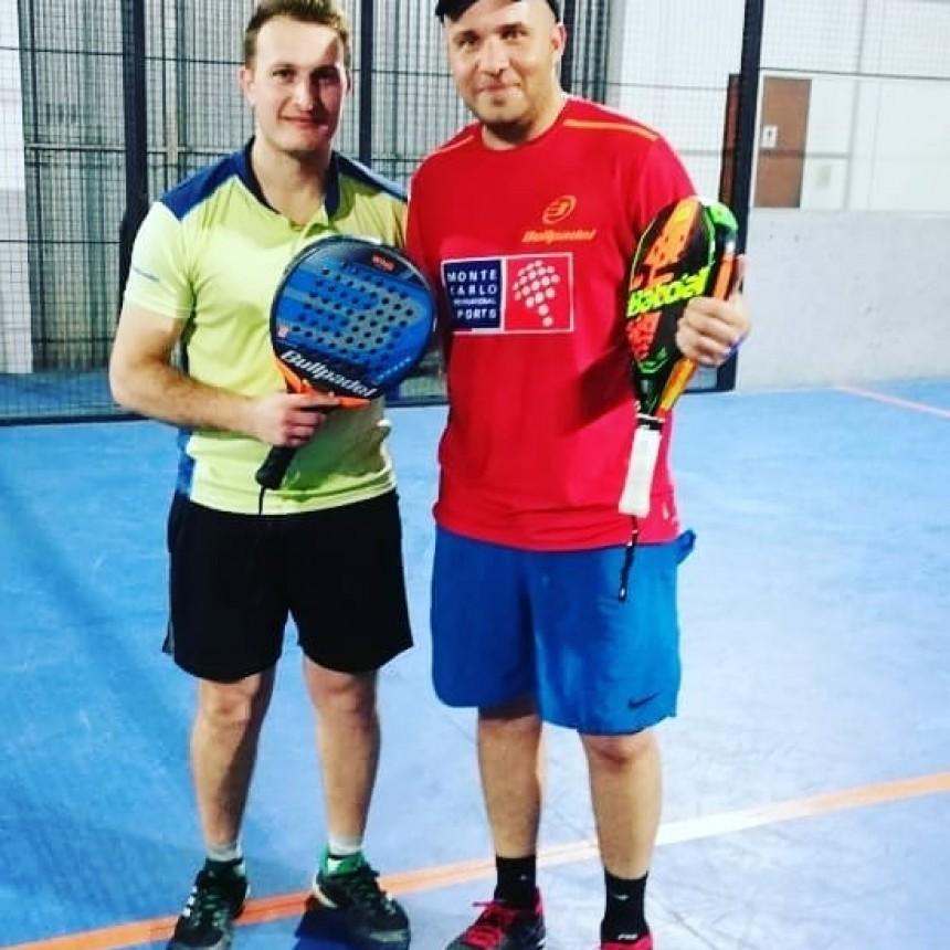 Ariel Ferreyra y Francisco Verzello campeones de 5ta en Saladillo