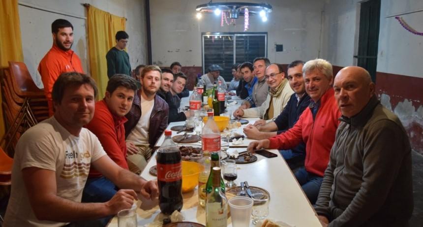 El Intendente se reunió con la comisión directiva de La Totora