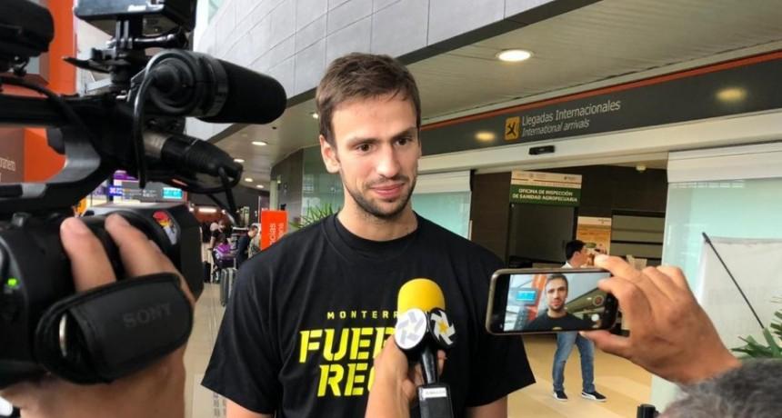Marcos Delía ya está en México para integrarse al Fuerza Regia