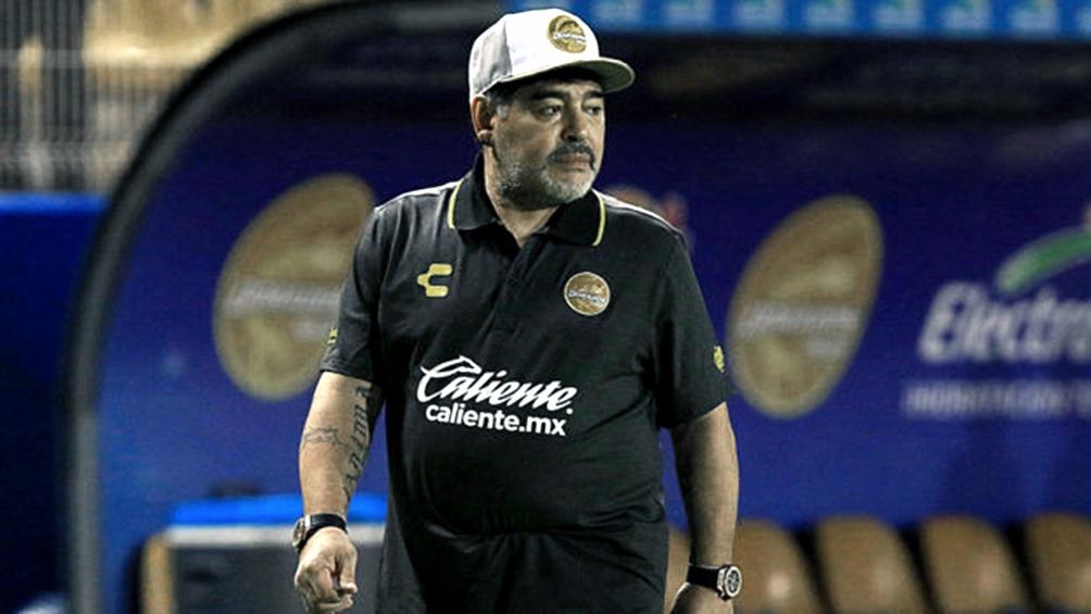 Maradona rechazó la propuesta y no será DT de Gimnasia