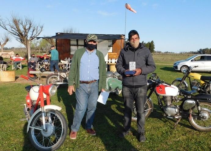 Club de Motos Clásicas realizó Prueba de Regularidad