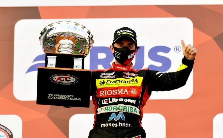 Nicolás Trosset y un primer triunfo inolvidable en el TC