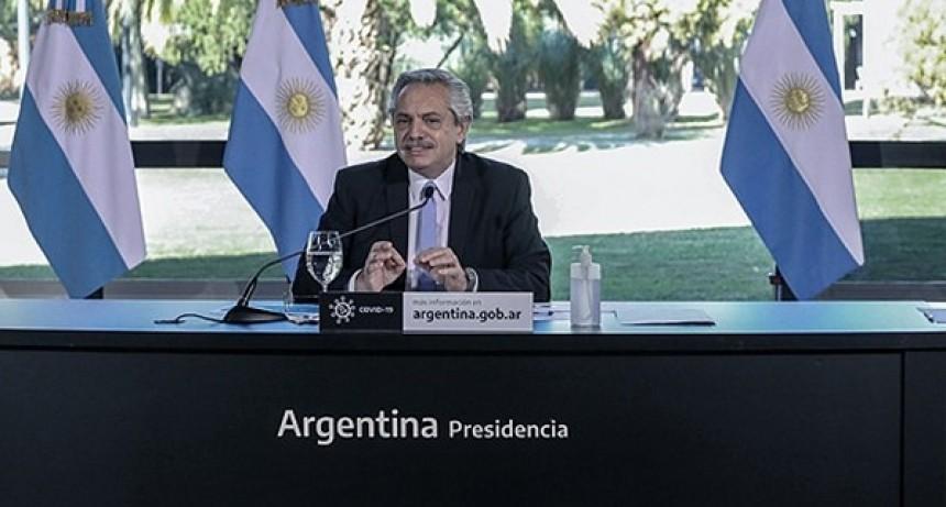 Fernández llamó a la unidad del Frente de Todos para
