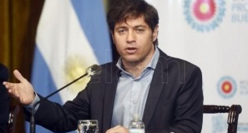 Kicillof anuncia el Plan Integral de Seguridad para la provincia de Buenos Aires