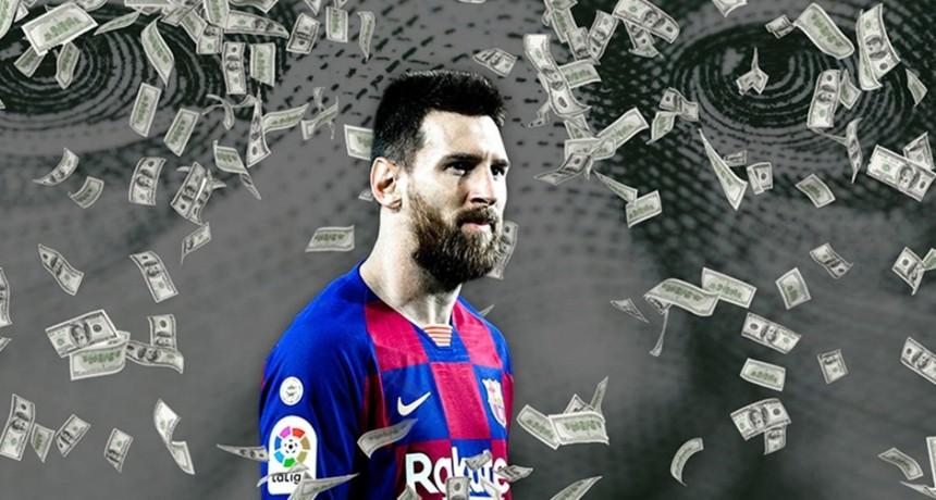 Lionel Messi es el futbolista que más dinero ganó en lo que va del 2020