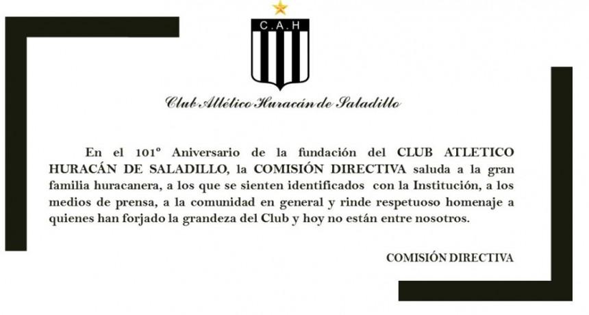 101° Aniversario del club Atlético Huracán