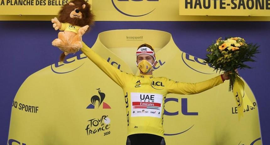 El esloveno Tadej Pogacar se coronó en el Tour de Francia