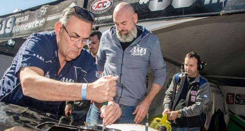 Guillermo Ortelli visitó su nuevo equipo