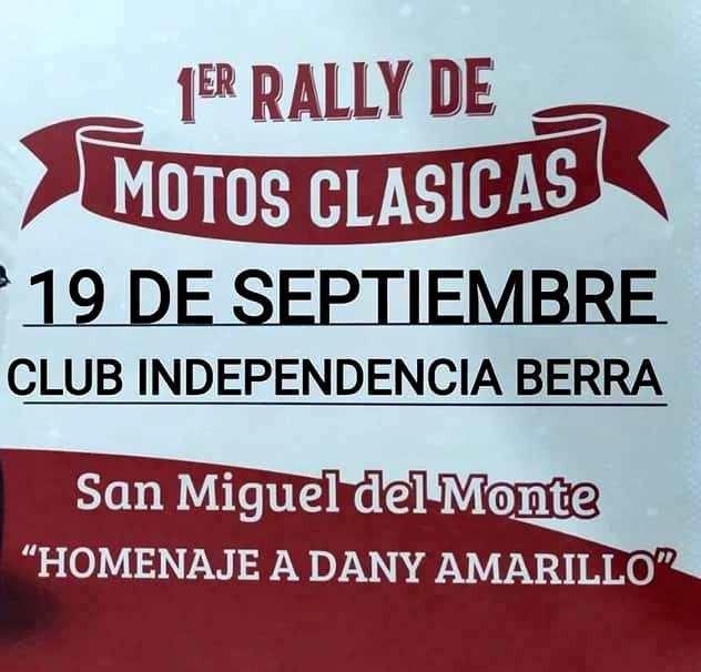 Motos Clásicas: Varios saladillenses participan este domingo del Rally de Monte