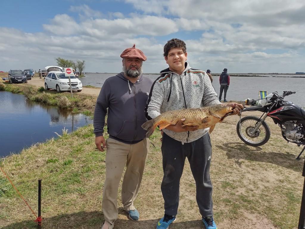 Nicolás Basilio ganó el Concurso 61° Aniversario del Club de Pesca Saladillo
