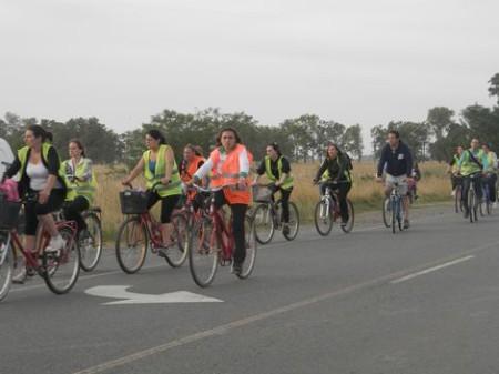 Comienzan las bicicleteadas preparatorias para Lujan