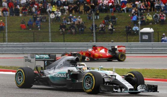 Ganó Hamilton y se coronó campeón por tercera vez
