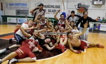 Club Ciudad de Saladillo merecido campeón en primera división del Torneo de la Asociación Básquet Chivilcoy