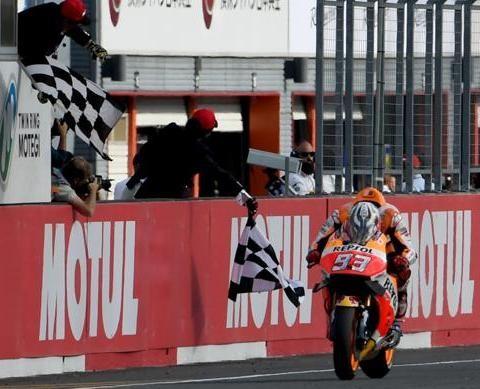Marc Márquez ganó el GP de Japón y se consagró campeón mundial de MotoGP