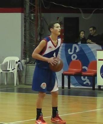 Santiago Mazza entrena hoy con la Preselección Argentina Sub15
