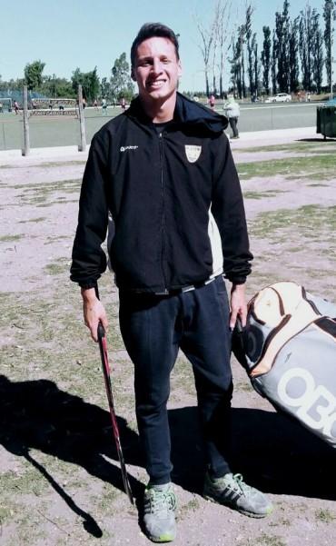 Nicolás Cassarino se encuentra jugando en Mendoza con la selección de la Federación Tandilense
