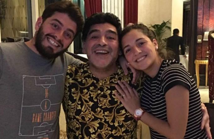 En su cumple, Diego destrozó a Higuaín y a la AFA