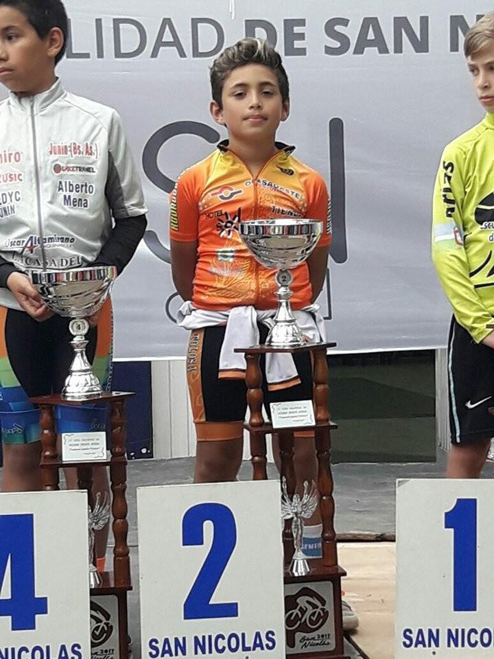 Uriel Tolosa fue segundo en San Nicolás, quedando primero en el ranking