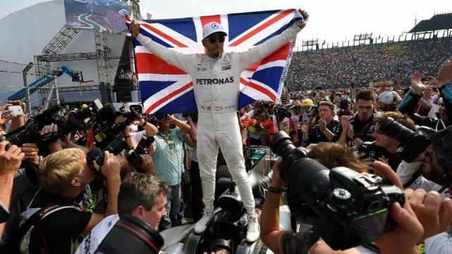Hamilton, campeón de la Fórmula 1 por cuarta vez
