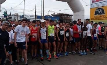 Ezequiel Aguilera corrió en San Francisco Solano