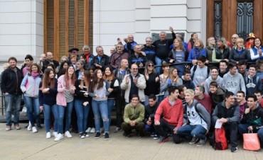 El Intendente despidió la delegación que viajó a Mar del Plata