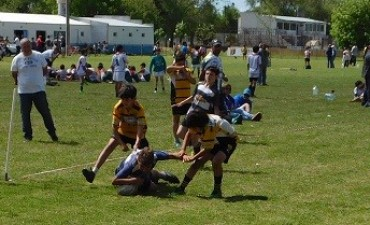 Se realizó en Saladillo encuentro de Escuelitas de Rugby