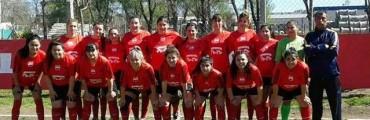 Encuentro amistoso de fútbol Femenino en Del Carril