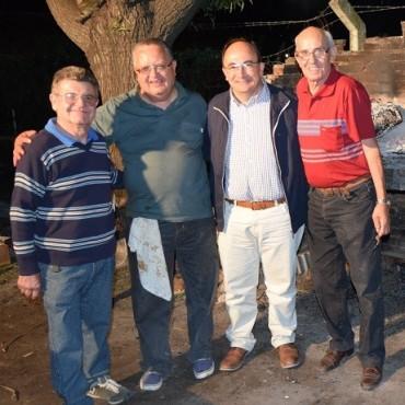 Cena en la Asociación de Tejo de Saladillo