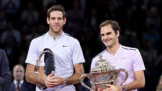 Delpo cayó ante Federer en la final de Basilea
