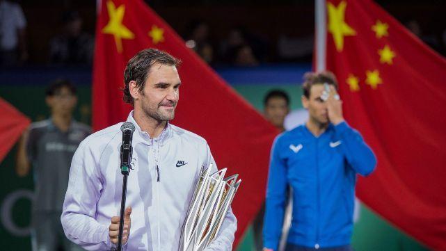 Federer conquistó China tras vencer a Nadal