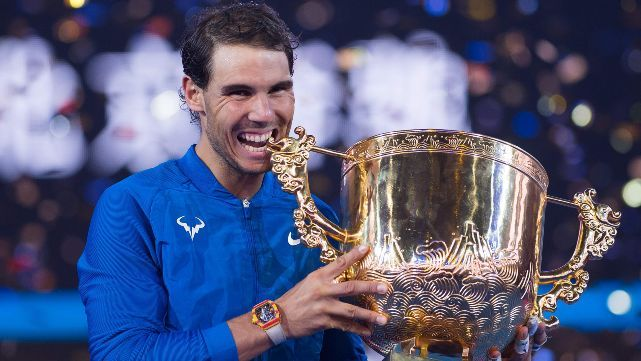Nadal aplastó a Kyrgios y ganó su título número 75
