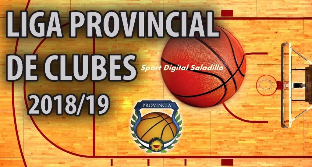 Ciudad de Saladillo debuta hoy en el Provincial de Clubes de Básquet 2018/19